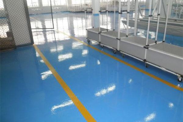 地坪漆的特点和济南地坪漆施工的注意事项你都了解吗?