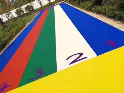 学校用彩色塑胶跑道