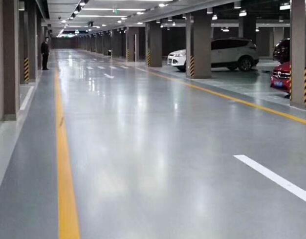济南车库进行环氧地坪施工的几个好处