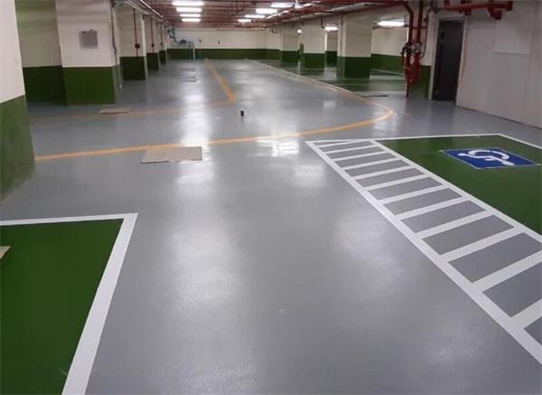 环氧地坪施工后需要一段时间保护地坪成型